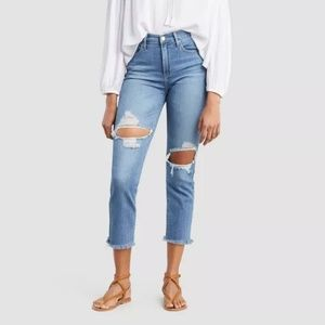 Levi's Women's 724 High-Rise Cropped Jeans
